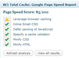 page-speed-report