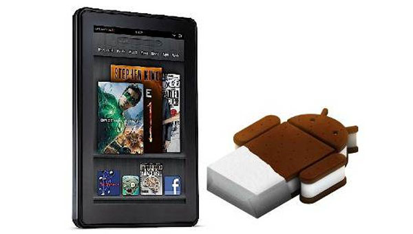 How To Install Android ICS And Switch Launchers In Kindle Fire
