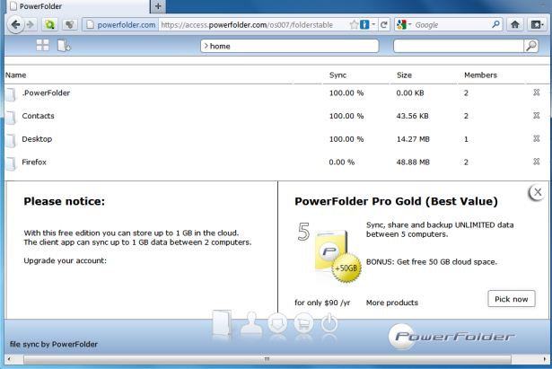 powerfolder-gold