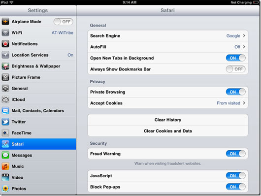 how do you turn off private browsing on iphone how to access incognito mode in safari for ios 21325