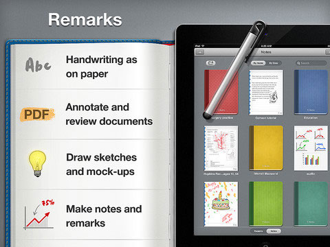 remarks-note-taking-ipad