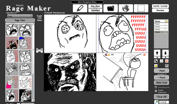 Rage Maker - Online Rage Comic Maker
