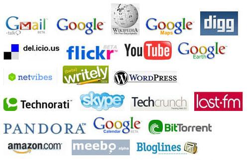Popular Website Logos Logos show wha.