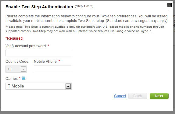 godaddy-2-step-authentication