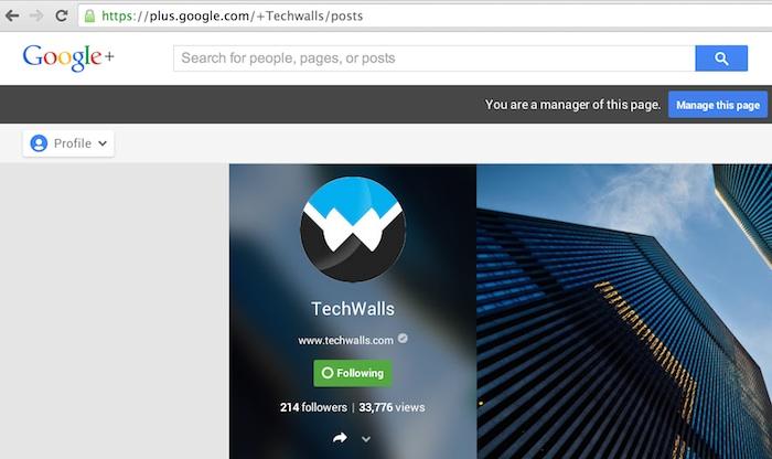 Google Plus launches vanity URLs for verified accounts.