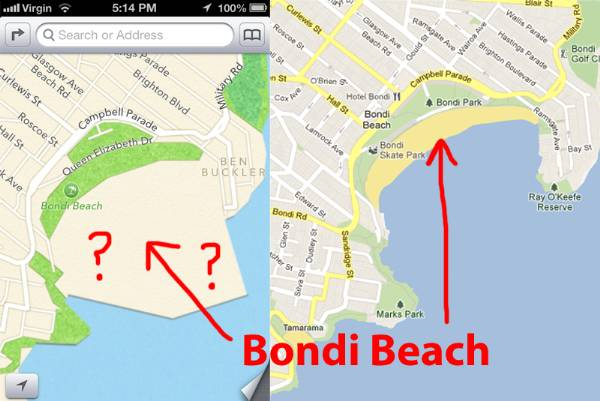 bondi-beach-apple-maps