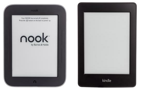 Kindle Vs Sony Reader: Kindle Paperwhite Vs Nook Simple Touch GlowLight Vs Sony