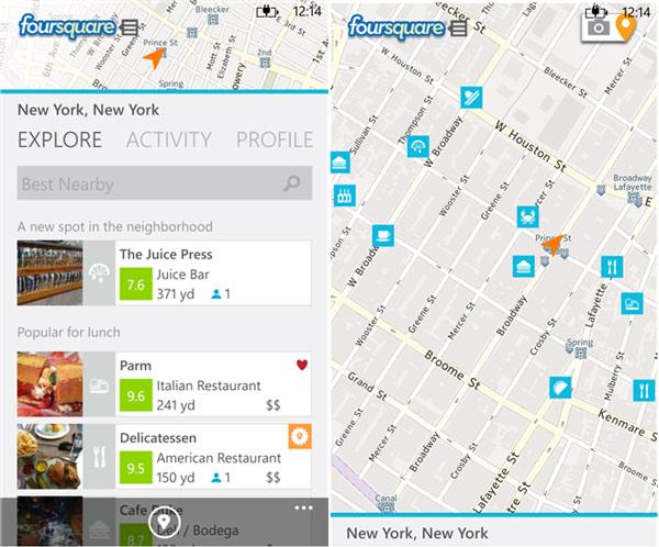 foursquare-windows-phone