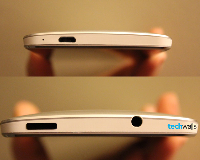 HTC One Gaps in Design