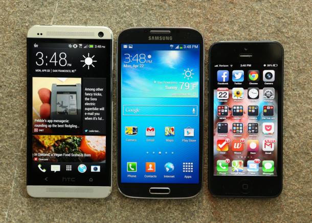 htc_one_Samsung_Galaxy_S4