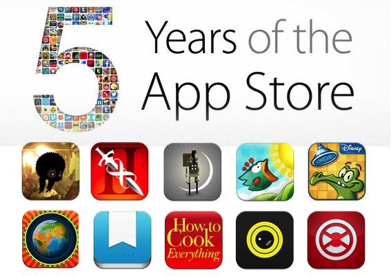 Apple-app-store-history