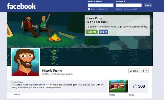HawkFunnFacebook