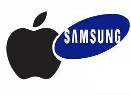 Samsung-Apple-logo