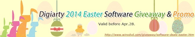Digiarty easter giveaways