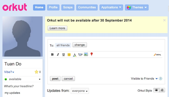 orkut-discontinued