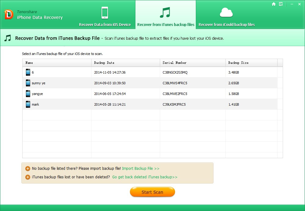 Tenorshare iPhone Data Recovery: Easy-to-Use Software for Retrieving