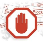 What are the security implications of disabling ad blockers?