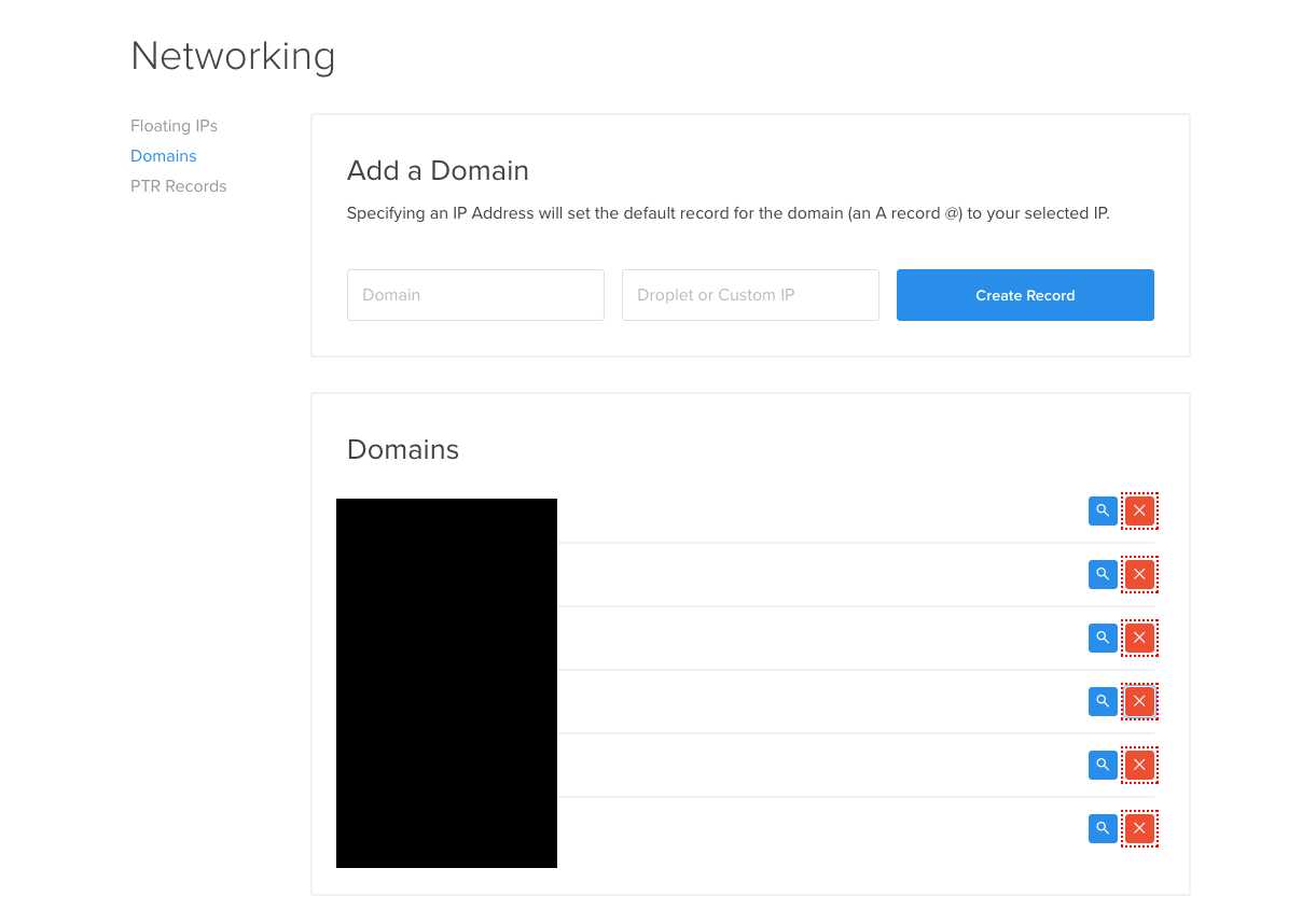 digitalocean-delete-domain