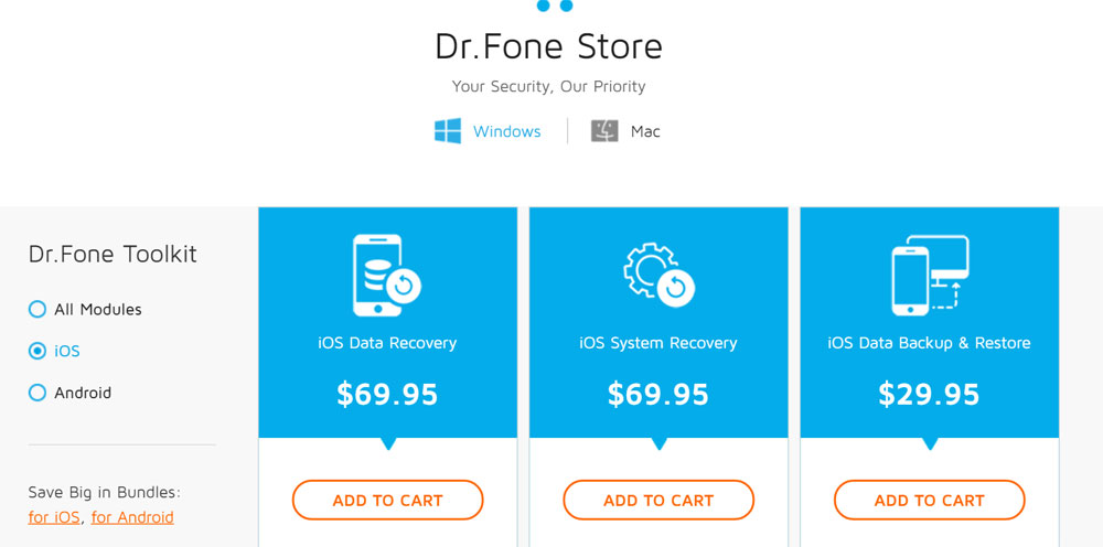 dr.fone toolkit for android data recovery