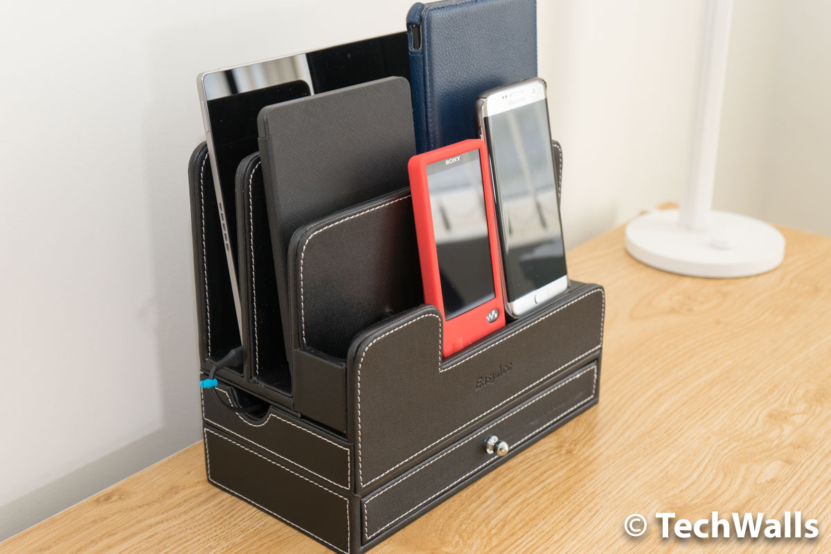 Easyacc multi device organizer for phones tablets and - Over the desk organizer ...