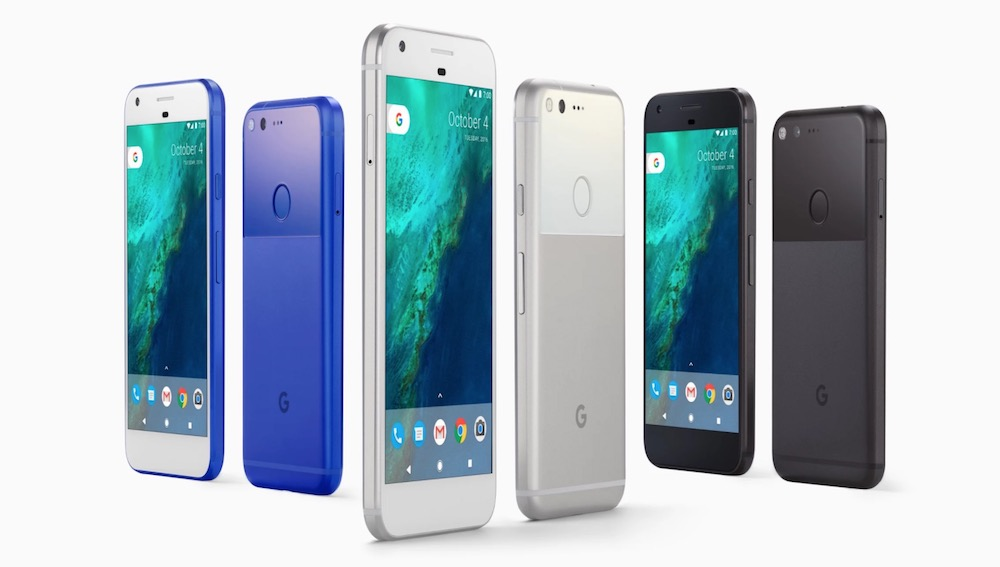 Google Pixel and Pixel XL Model Numbers (G-2PW2100, G