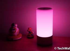 Xiaomi Yeelight Smart Nightstand Lamp Review – a Colorful and Smart Lighting