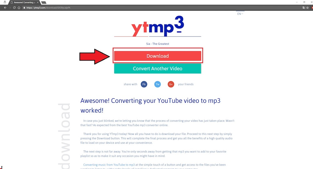 you tube to mp3 converter online