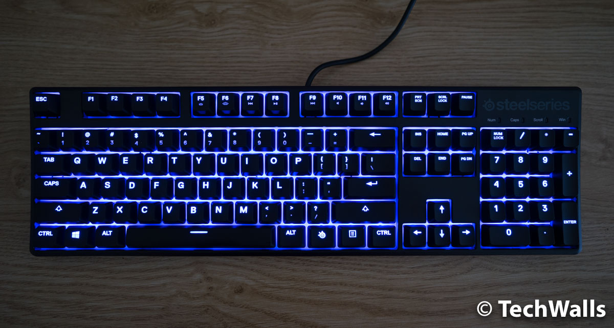 80ad27c14d0 SteelSeries Apex M500 Mechanical Gaming Keyboard Review