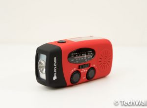 ELECLOVER Portable Emergency Solar Hand-Crank Radio Review
