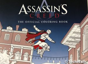 Assassin's Creed: The Official Coloring Book Review