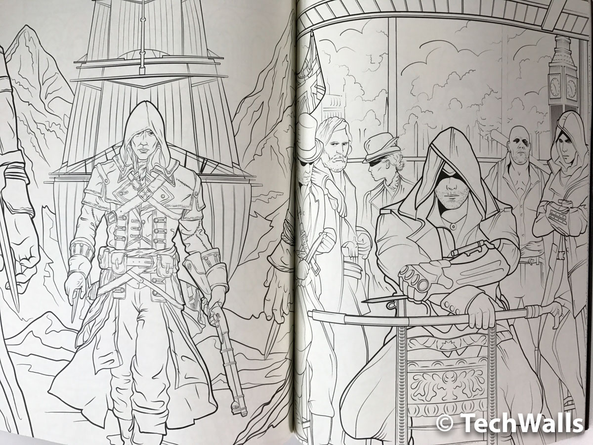 Assassin S Creed The Official Coloring Book Review