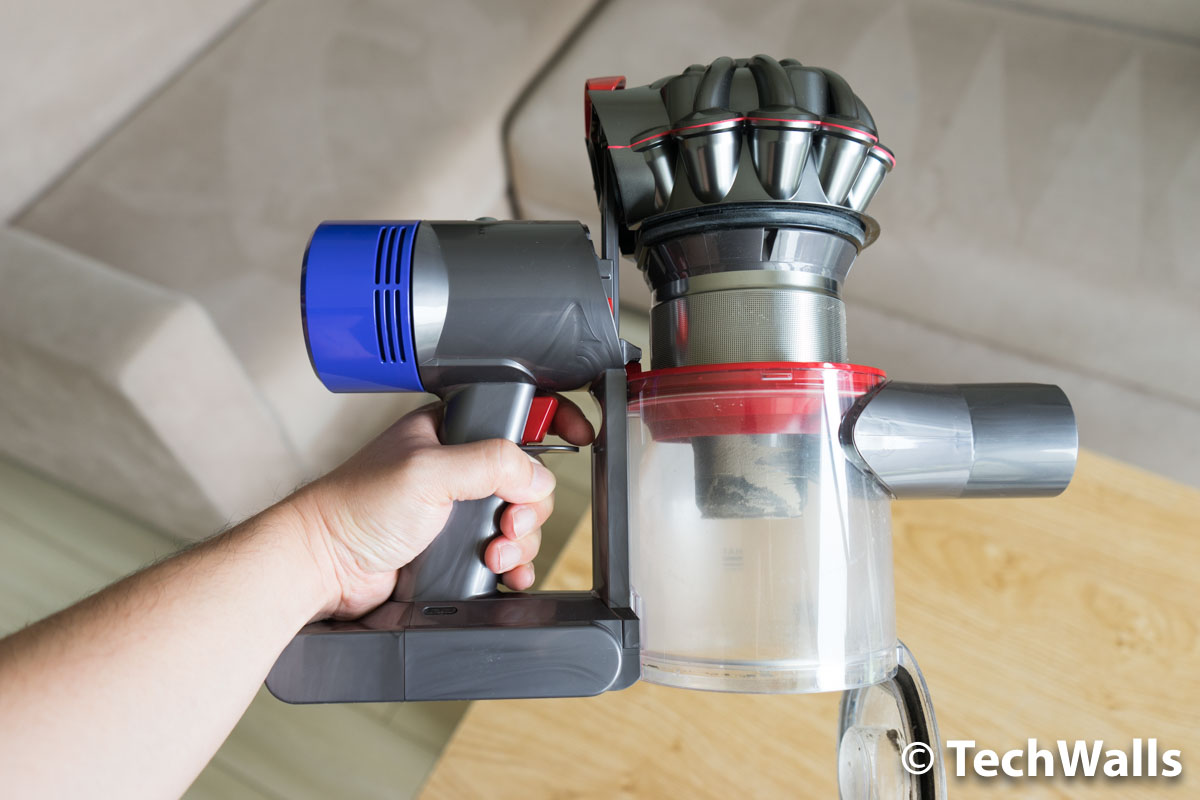 dyson v8 absolute cord free vacuum cleaner review worth the upgrade from v6. Black Bedroom Furniture Sets. Home Design Ideas
