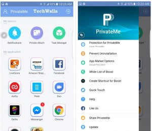 Trigtech PrivateMe Review – Hide Apps & Photos without Rooting