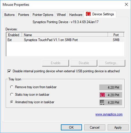 How to Disable the MSI Touchpad When An External Mouse is Connected