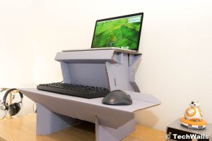 Ergodriven Spark Cardboard Standing Desk Review – The Cheapest Solution