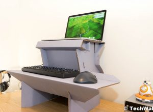 Ergodriven Spark Cardboard Standing Desk Review – The Cheapest Solution