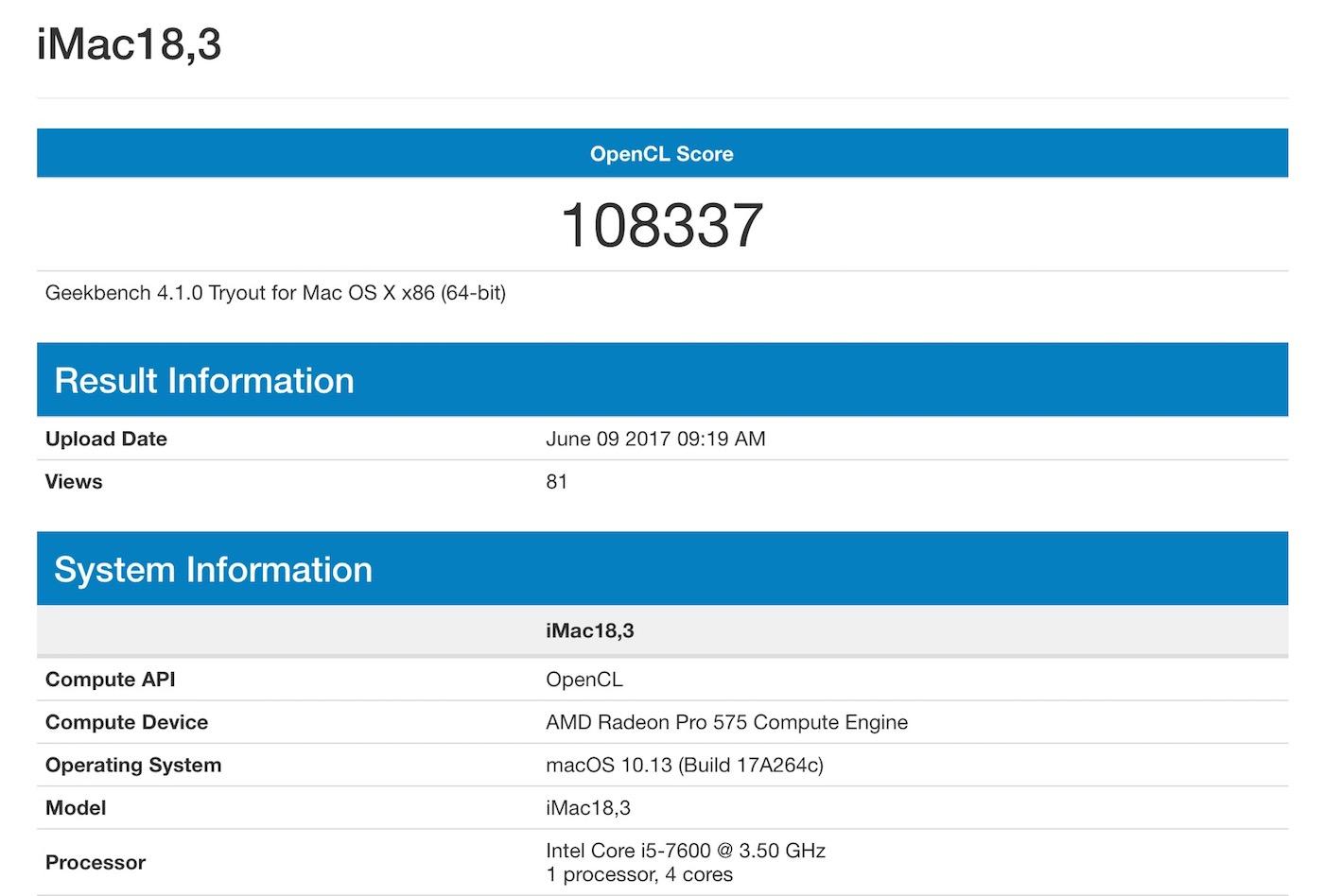 AMD Radeon Pro 570 vs 575 vs 580 on iMac - Specification and