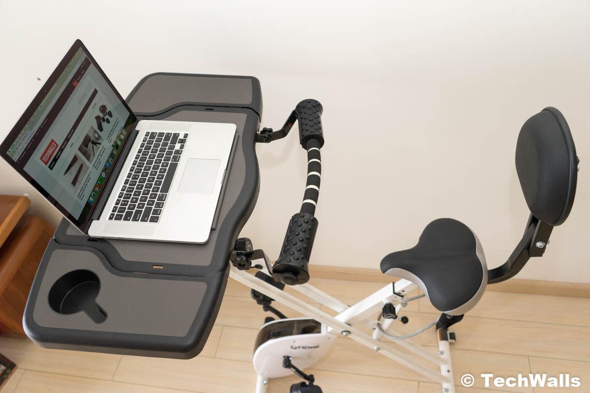 FitDesk FDX 3 0 Exercise Bike Desk with Tablet Holder Review