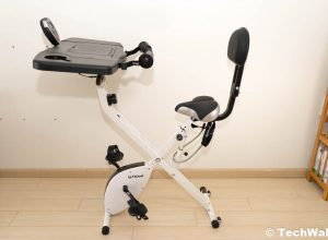FitDesk FDX 3.0 Exercise Bike Desk with Tablet Holder Review
