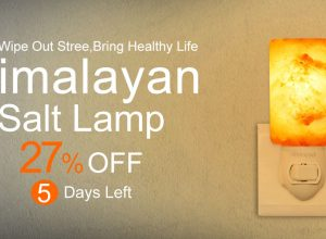 [Deal] dodocool Himalayan Salt Lamp