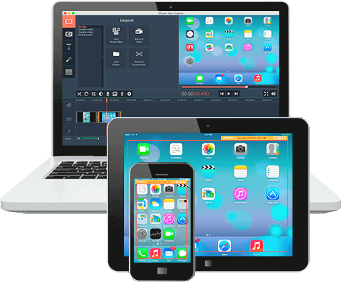 Recording Different Videos from Apple Devices' Screens with Movavi