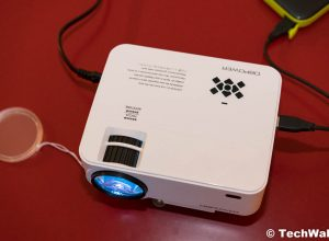 DBPOWER T21 Mini LED Projector Review – 5-Star Budget Projector?