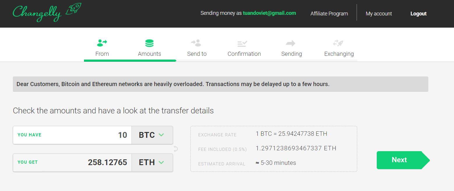 changelly bitcoin address alpari partner login