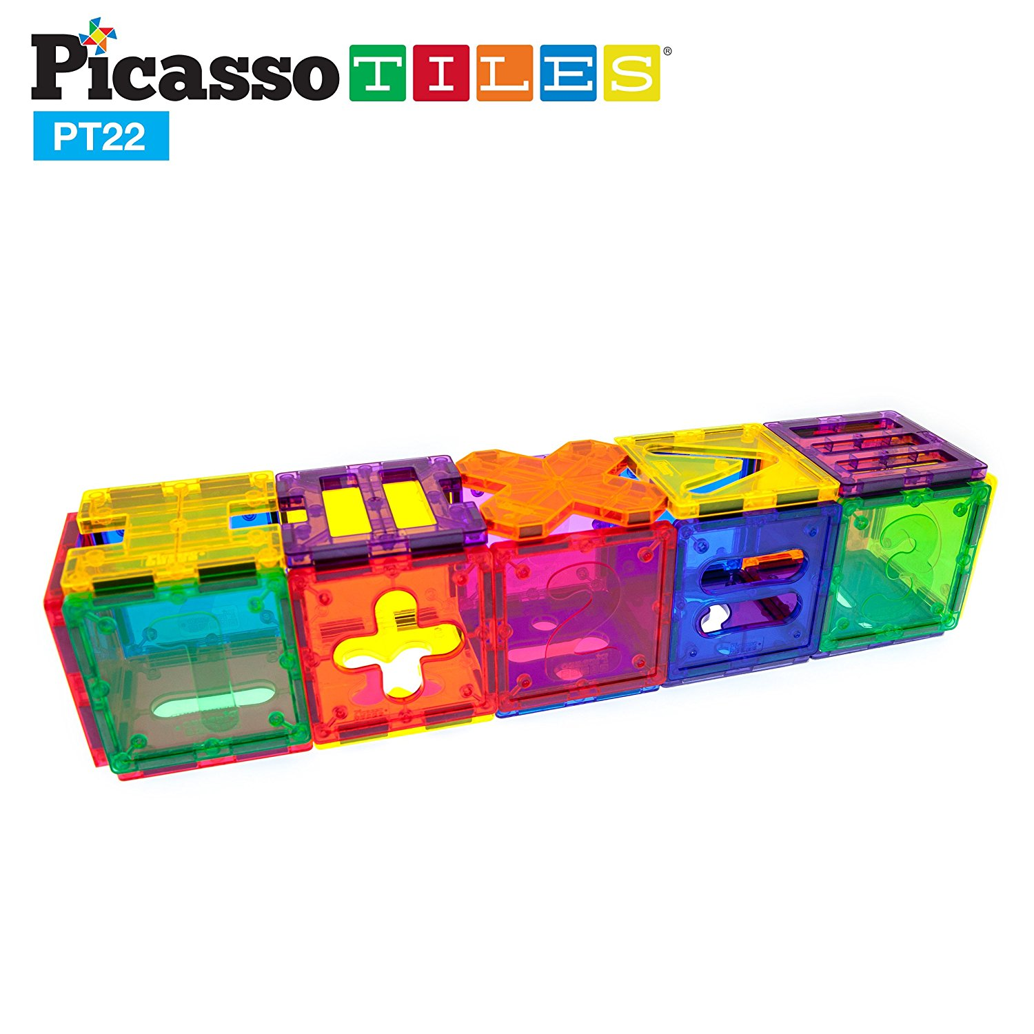 PicassoTiles Magnetic Building Blocks for Kids