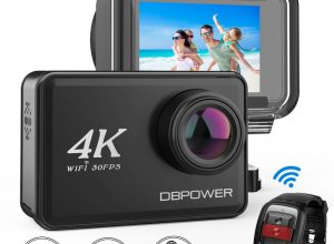 [Deal] DBPOWER D5 Native 4K EIS Action Camera Promo Code