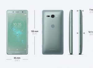 Sony Xperia XZ2 Compact H8314, H8324 Model Number Differences