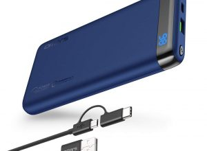 [Deal] Omars USB-C 10,000mAh Power Bank with an LCD Screen