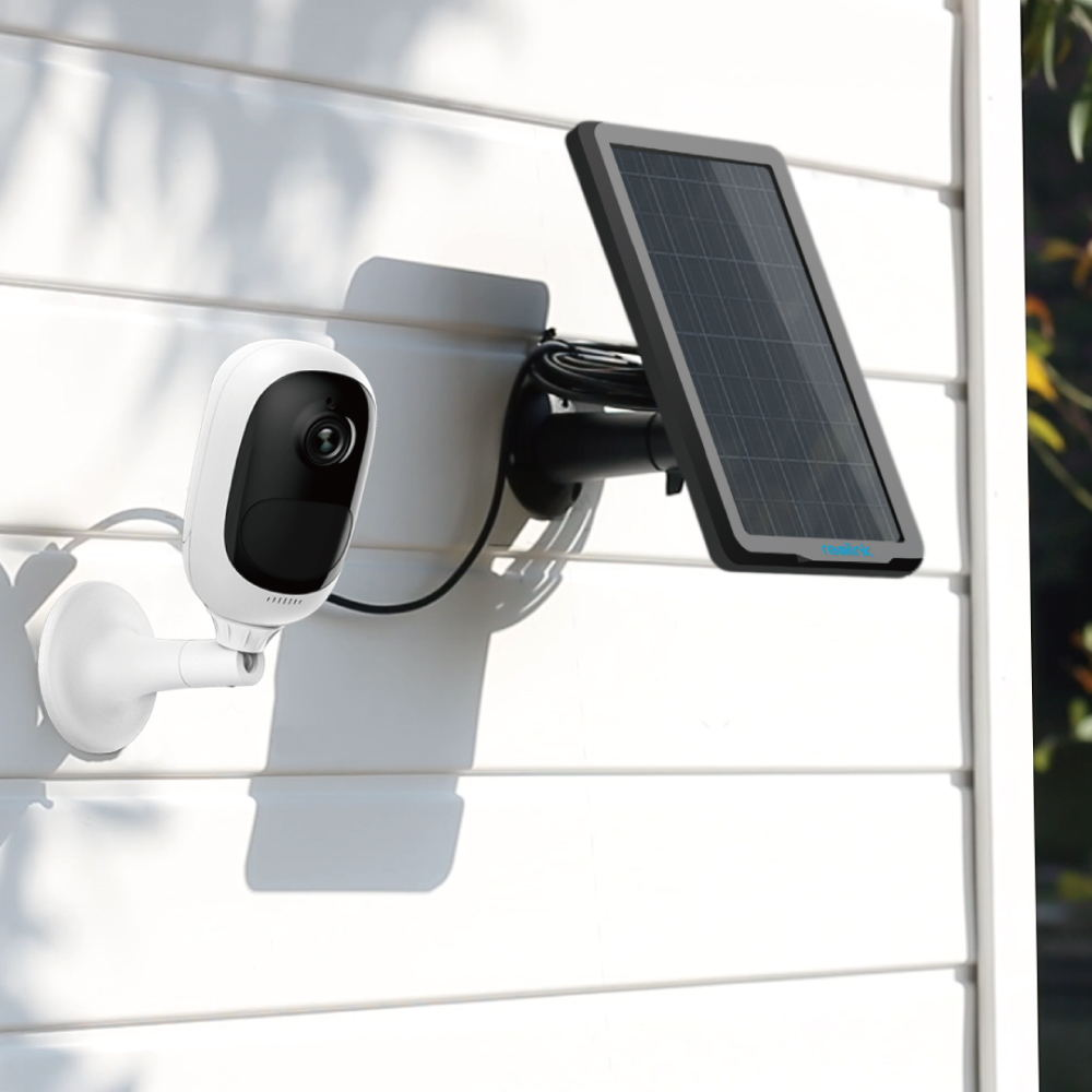 reolink argus pro security camera with solar panel review techwalls. Black Bedroom Furniture Sets. Home Design Ideas