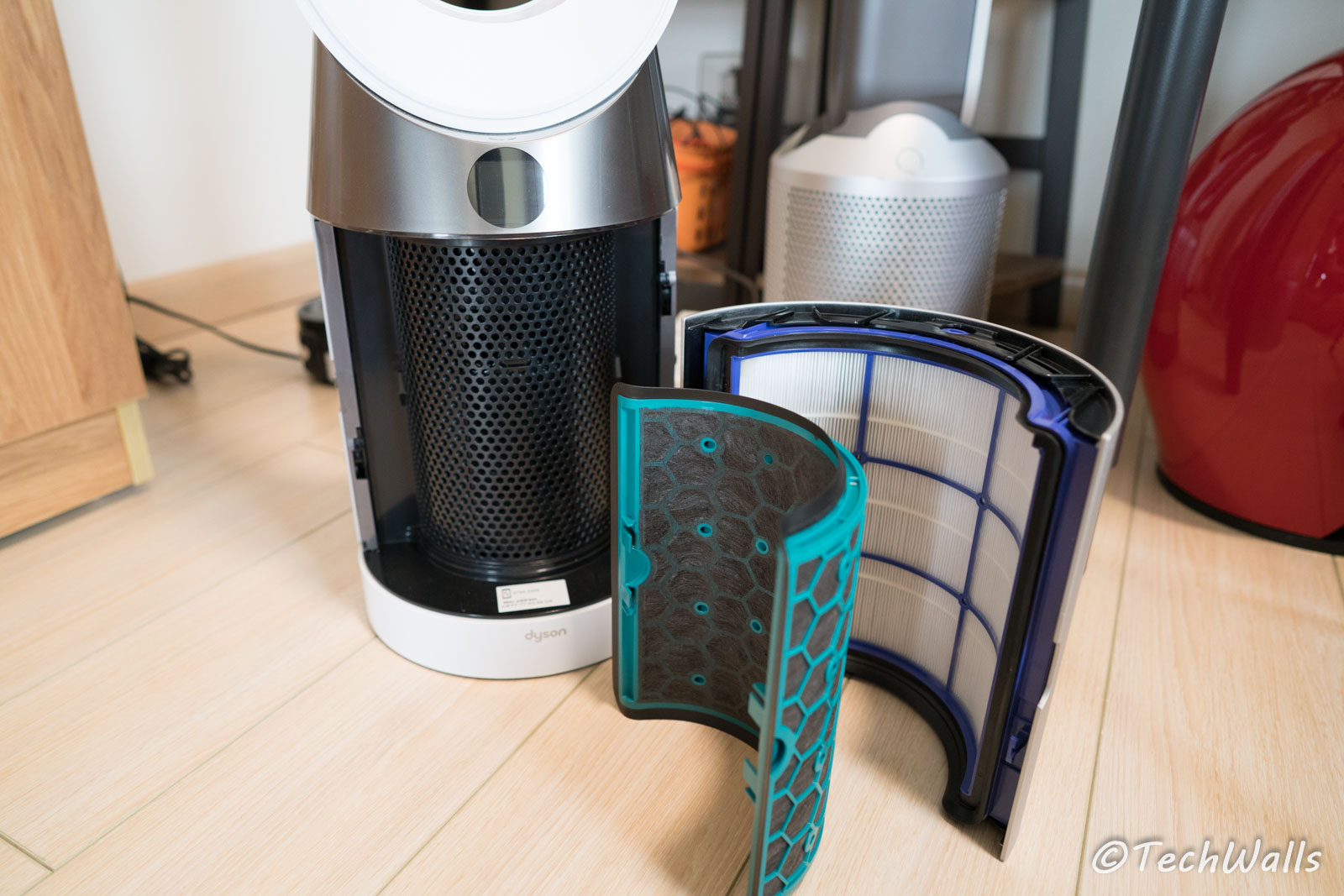 Dyson Pure Cool Tp04 Purifying Tower Fan Review The Most