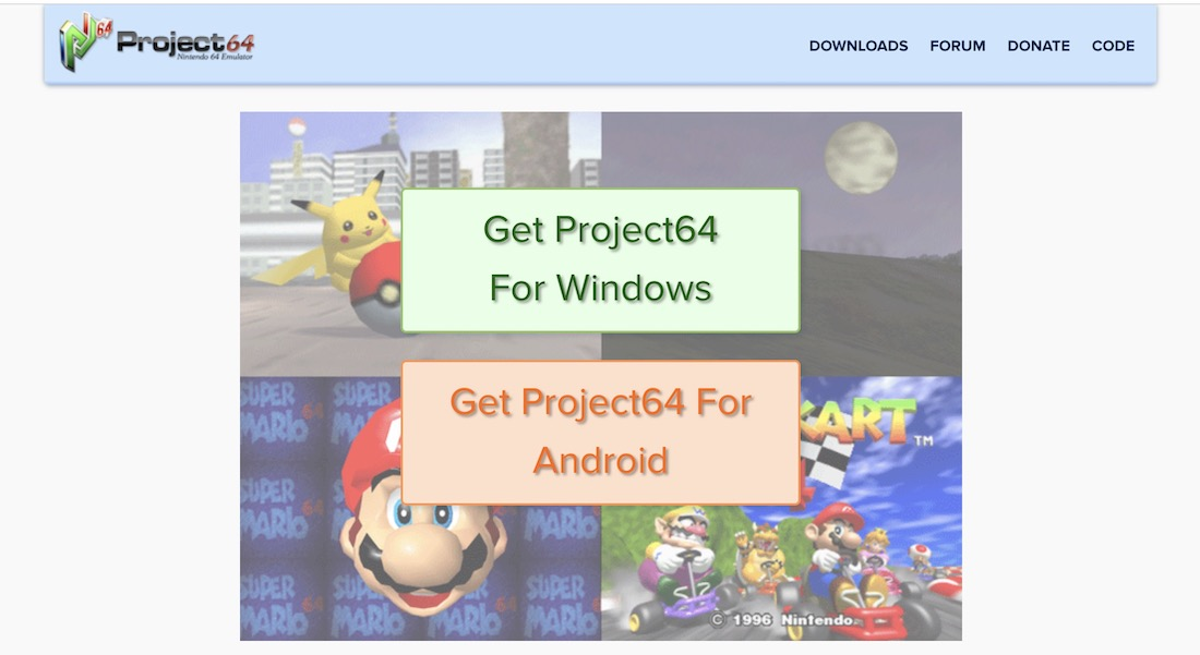 how to play nintendo 64 games on pc